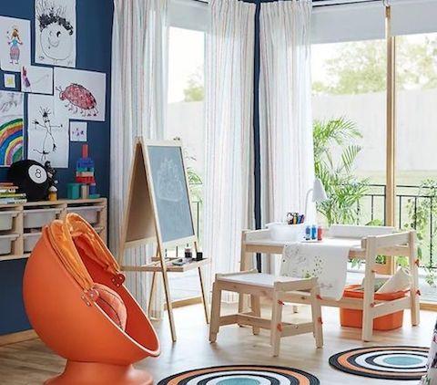детская комната икея